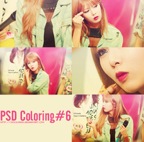 PSD Coloring#6 [130606 - Happy Birthday Kim HyunA] by SickyJinny