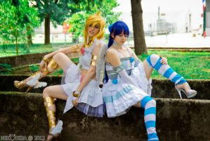 One Minute Resting ~Panty and Stocking~ by NekoHibaPC