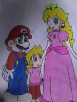 Mario's Family Portrait by MC-Ash-Tray