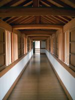 japanese hallway 002 by Kebehut-stock