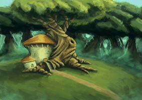 tree house by dhartx