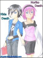 Kida and Noriko Death__KidCrona fanchildren by khryztal-dark