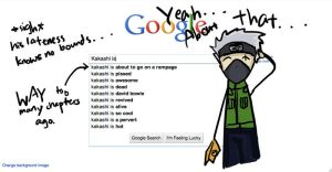 Google This - Kakashi is... by GoldenDragonClouds