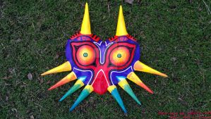 Majora's Mask Fullview by Belle43