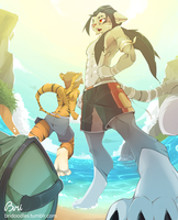 Beach time!! by Mixpint