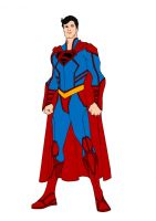 JLA Year One- Superman by Comicbookguy54321