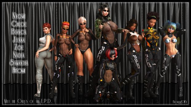 1100 Watchers - Girls of the EPD by Becarra