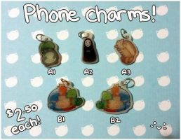 [OPEN] PHONE CHARMS!! by WanNyan