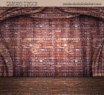 Brick Stage Curtain by Smoko-Stock