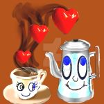Coffe Love valentines day by jeankeize