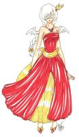 Yue's Masquerade Gown by Jamethial
