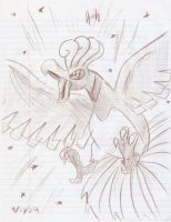 Ho-Oh Doodle by FENNEKlNS