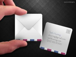 Airmail Business Cards by axylus