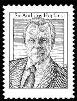 anthony hopkins stamp by o8connell