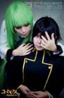 Lelouch and C.C by fritzfusion