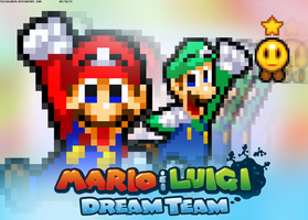 Mario and Luigi: Dream Team by FaisalAden