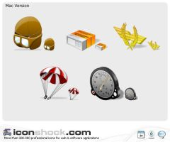 Aviation Icons MAC by Iconshock