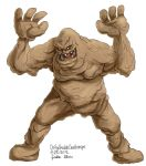 Daily Sketches Clayface by fedde