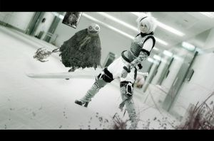 Nier And Friend 2 by Inushio