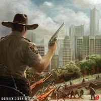 Rick Grimes by Changinghand