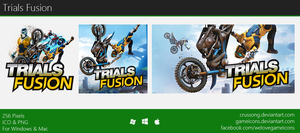 Trials Fusion - Icon by Crussong