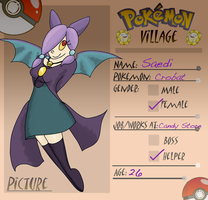 Pokemon Village Application: Saedi by SpiffyShoes