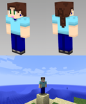 Minecraft Skin - Causal Chantelle by BoboMagroto