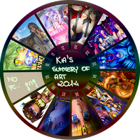 Kia's Summery Of Art 2014 by KiaCookie