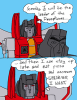 Shitty Teenage Son Starscream 2 by fuzzyrobot