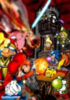 Super Smash Bros. Brawl Ilustr by JFRteam