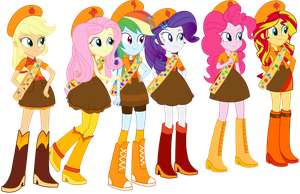 The Fireside Equestria Girls by BirdAlliance