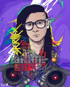 My Name Is Skrillex by insaneKaffeine