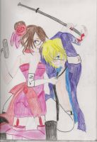 Thea and Evil Len - under your spell by SarahShirabuki8000