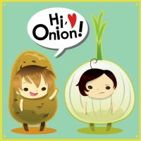 Potatoes and Onions by Eich-sama