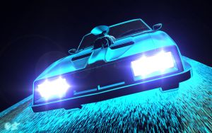 Outback Night Rider by darthhell