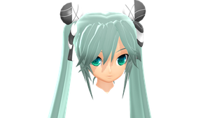 MMD - Conflict Miku YB Style WIP by YellowDesuCake