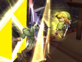 Toon Link Better Than Link by snoopypup248