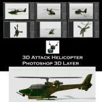 3D Attack Helicopter by ArthurRamsey