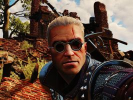 The Witcher 3 It's not a selfie by lezisell