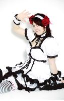 Cosplay: Gothic Lolita Haruhi by Street-Angel