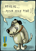 Muttley's Medal by altergromit