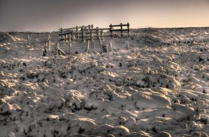 Snowy Moors by richardjwakefield