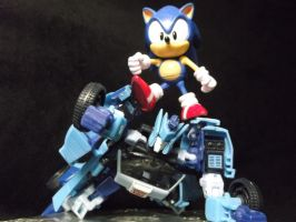 Sonic never loses a race! you're to slooooooow! by forever-at-peace