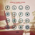 Simple Game Icons by aekro