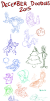 December Doodles 2015 by TopperHay