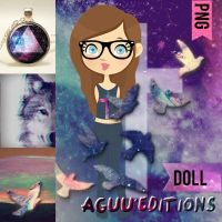 Doll Dreamer hipster png by Aguuuuuuuuuu
