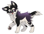 Wolf adoptable 12 _CLOSED_ by thelunapower