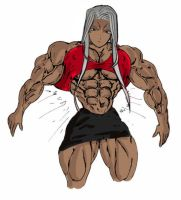 Urd's Abs by muscle82002