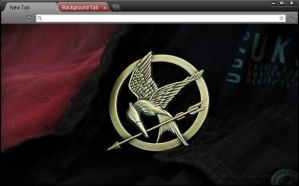 Hunger Games Chrome theme by RollingFishays
