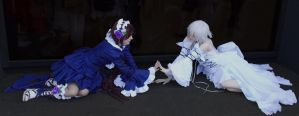 Alice Twins Anime North 2014 by SlothxKuriKara